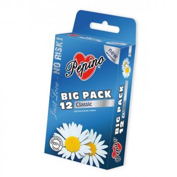 PEPINO Classic Big pack pánské kondomy 12 kusů