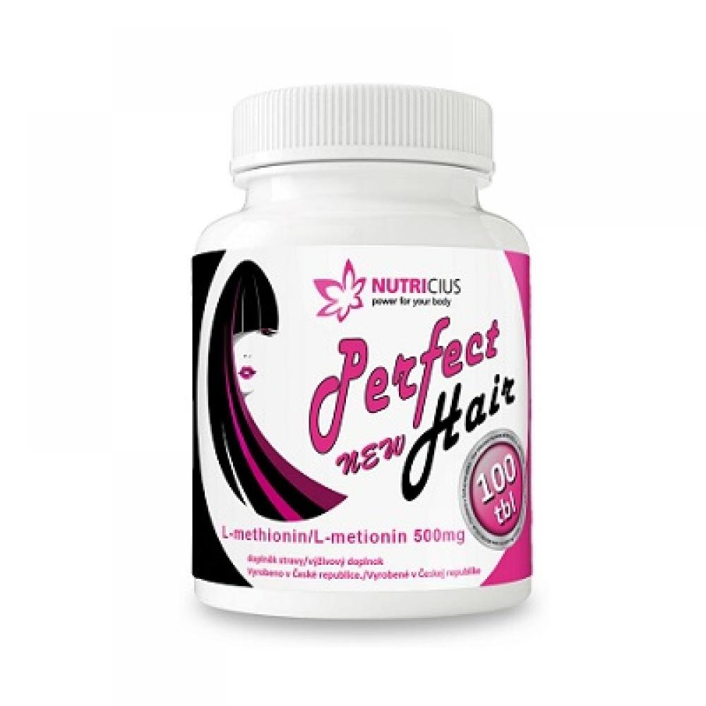 Perfect HAIR new - methionin 500mg 100 tablet