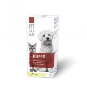 PET HEALTH CARE FYTO pipeta pro psy do 10 kg a kočky 15 ml