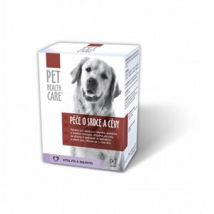PET HEALTH CARE Péče o srdce a cévy pro psy 90 tablet