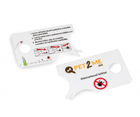 PET2ME Odstraňovač klíšťat s lupou