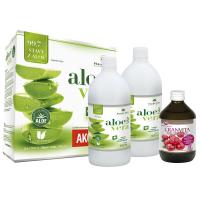 PHARMA ACTIV AloeVeraLife aloe 99.7% 1+1 1000ml + Cranvita 500ml