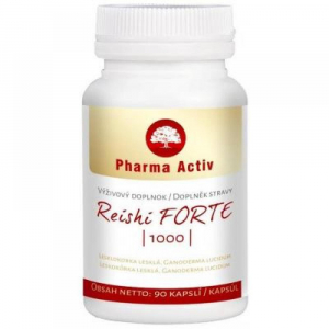PHARMA ACTIV Reishi Forte 90 kapslí