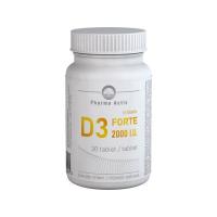 PHARMA ACTIV Vitamín D3 forte 2000 IU 30 tablet