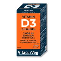 PHARMALIFE Vitamin D3 z lišejníku 2000 IU 30 ml