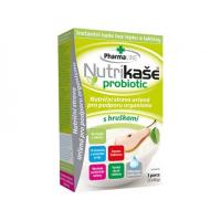 PHARMALINE Nutrikaše probiotic S hruškou 3x60 g