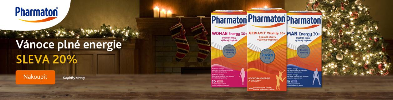Pharmaton se slevou 20 %