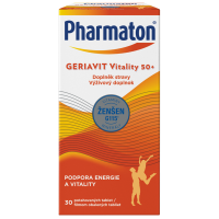 PHARMATON GERIAVIT Vitality 50+ tablety 30 kusů