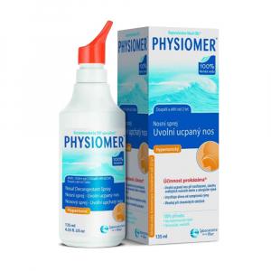 PHYSIOMER Hypertonický Alergie a nosní dutiny 135 ml