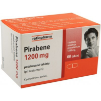 PIRABENE 1200 MG  60X1200MG Potahované tablety