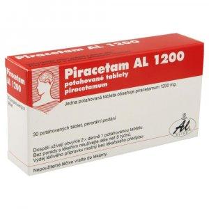 PIRACETAM AL 1200  30X1200MG Potahované tablety
