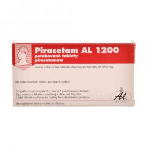 PIRACETAM AL 1200 Potahované tablety 60x1200mg