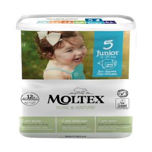 MOLTEX Pure & Nature Junior 11-25 kg 25 ks