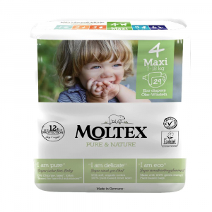 MOLTEX Pure & Nature Maxi 7-18 kg  29 ks