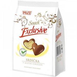 POEX Srdíčka v mléčné čokoládě 90 g