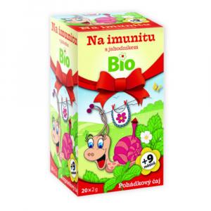 POHÁDKOVÝ ČAJ BIO Imunita s jahodníkem 20 x 2g