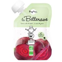 POPOTE Zeleninová kapsička červená řepa od 6.měsíců BIO 120 g