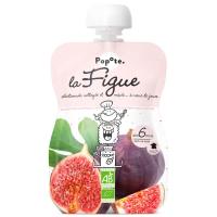 POPOTE Ovocná kapsička fíky od 6.měsíců BIO 120 g