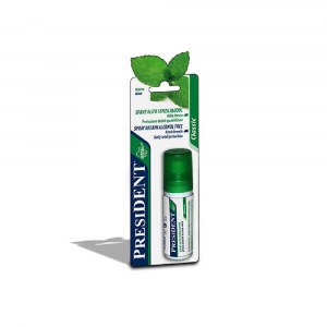PRESIDENT Classic Ústní spray Máta 20 ml