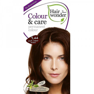 HAIRWONDER Dlouhotrvající barva – tmavě měděná hnědá 3.44 – 100 ml