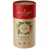 ATTITUDE Přírodní tuhý deodorant Super leaves Červené vinné listy  85 g
