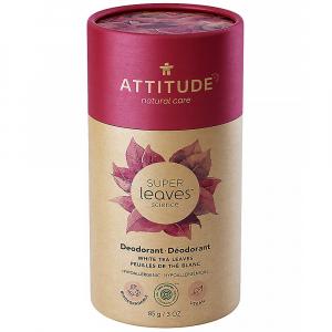 ATTITUDE Přírodní tuhý deodorant Super leaves Listy bílého čaje  85 g