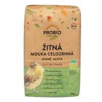 PROBIO Mouka žitná celozrnná jemně mletá BIO 1 kg