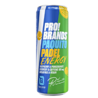 PROBRANDS Energetický drink PAQUITO PADEL malina a granátové jablko 330 ml