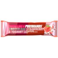 PROBRANDS Protein bar s příchutí jahoda a jogurt 45 g