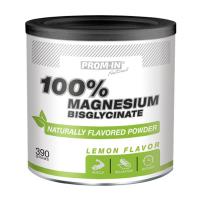 PROM-IN 100% MAGNESIUM BISGLYCINATE 390 g s příchutí citrón