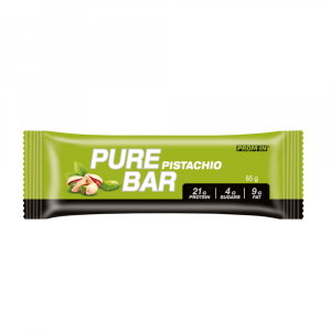 PROM-IN Essential Pure bar proteinová tyčinka pistácie 65 g