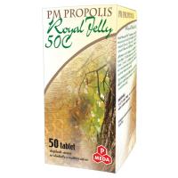PURUS MEDA Propolis 50C + Royal jelly 500 mg 50 tablet
