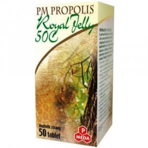 Propolis 50C+Royal jelly tbl.50x500mg