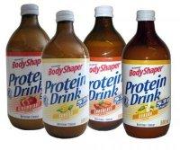Protein Drink, proteinový nápoj RTD, 500ml, Weider - Jahoda