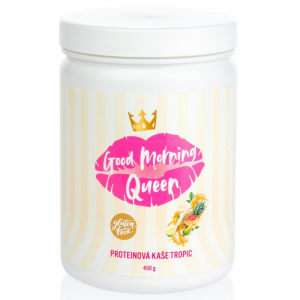 PINKY PROTEIN Proteinová kaše Good Morning Queen tropic 450 g