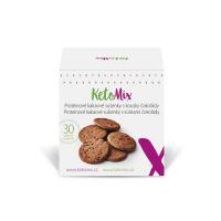 KETOMIX Proteinové kakaové sušenky s kousky čokolády 30 ks