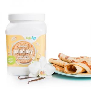 KETOLIFE Proteinové palačinky ovesné vločky a příchuť vanilka 350 g