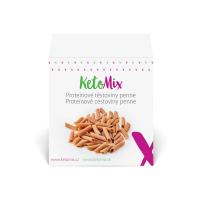 KETOMIX Proteinové těstoviny penne 10 porcí 300g