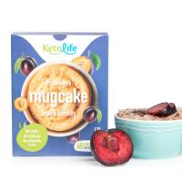 KETOLIFE Proteinový mugcake mák a švestky 175 g