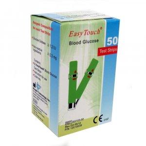 EASYTOUCH Testovací proužky pro měření glukózy 50 kusů