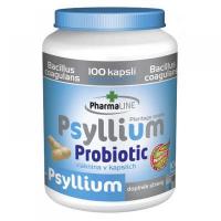 PHARMALINE Psyllium Probiotic 100 kasplí