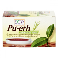 FYTOPHARMA Pu-erh s citrónovou trávou 20x 1,5 g