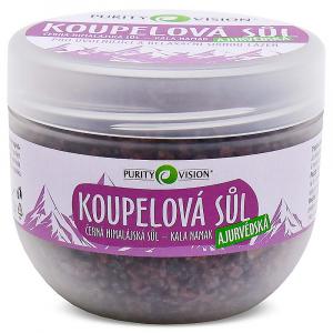 PURITY VISION Kala Namak Ajurvédská koupelová sůl 500 g