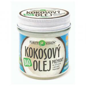 PURITY VISION Kokosový olej panenský BIO 120 ml