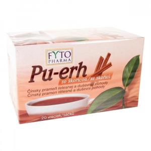 FYTOPHARMA Pu-erh se skořicí 20x1,5 g