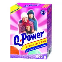 Q power prášek na jemné prádlo a vlnu 600g
