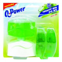 Q POWER Tekutý závěs Jablko 3 x 55 ml