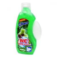 Q POWER WC gel s vůní borovice 400 ml
