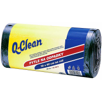 Q-CLEAN Pytle do odpadků 30l 50 x 60 cm 50 ks