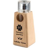 RAE Luxusní parfém indický lotos dřevěný obal 30 ml